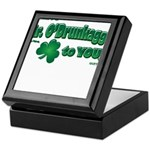 St Patrick's Day t-shirt, Mr Keepsake Box