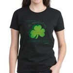 Go Green... One Beer at a Tim Women's Dark T-Shirt