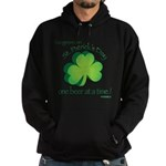 Go Green... One Beer at a Tim Hoodie (dark)