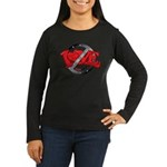 Single by Choice Women's Long Sleeve Dark T-Shirt