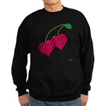 Valentine's Day Cherries Sweatshirt (dark)