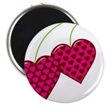 Valentine's Day Cherries Magnet