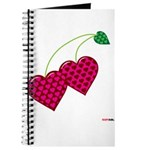 Valentine's Day Cherries Journal