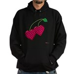 Valentine's Day Cherries Hoodie (dark)