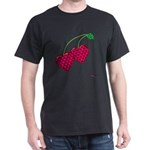Valentine's Day Cherries Dark T-Shirt