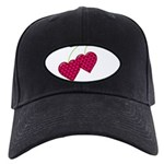 Valentine's Day Cherries Black Cap