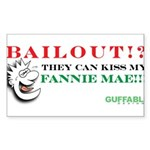 Kiss My Fannie Mae! Sticker (Rectangle 10 pk)