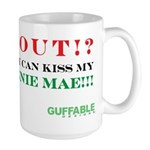 Kiss My Fannie Mae! Large Mug
