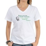 Your Bank Just Called... Women's V-Neck T-Shirt