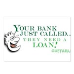 Your Bank Just Called... Postcards (Package of 8)