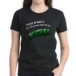 This whole bailout thing $UCK Women's Dark T-Shirt