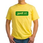 Greedy St. Yellow T-Shirt