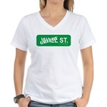 Greedy St. Women's V-Neck T-Shirt