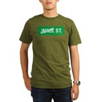 Greedy St. Organic Men's T-Shirt (dark)