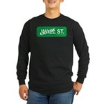 Greedy St. Long Sleeve Dark T-Shirt