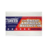 Wallstreet & Greed Rectangle Magnet (100 pack)