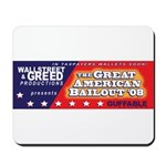 Wallstreet & Greed Mousepad