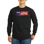 Wallstreet & Greed Long Sleeve Dark T-Shirt