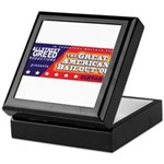 Wallstreet & Greed Keepsake Box
