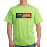 Wallstreet & Greed Green T-Shirt