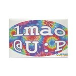 lmao @ U : P Rectangle Magnet (100 pack)