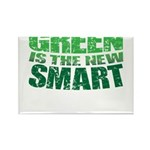 Green is the New Smart! Rectangle Magnet