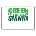 Green is the New Smart! Banner