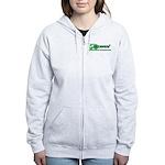 Go Green! Women's Zip Hoodie