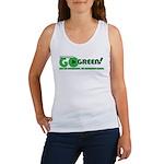 Go Green! Women's Tank Top