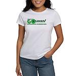 Go Green! Women's T-Shirt