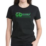 Go Green! Women's Dark T-Shirt