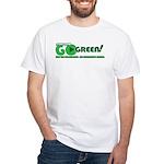 Go Green! White T-Shirt