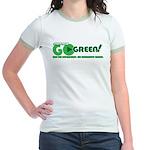Go Green! Jr. Ringer T-Shirt