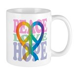 PeaceLoveRibbon_4 Mug