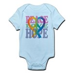 PeaceLoveRibbon_4 Infant Bodysuit