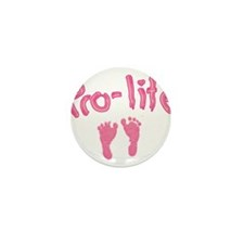 Pro Life _1 Mini Button (10 pack)