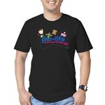 Pro-Life Flowers & Butterfly Men's Fitted T-Shirt