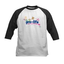 Pro-Life Flowers & Butterfly Tee