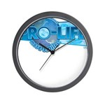 Pro-Life more smiles! Wall Clock