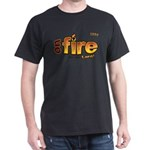On Fire for the Lord 2 red Dark T-Shirt