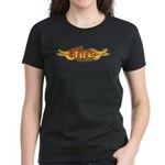On Fire for the Lord Women's Dark T-Shirt