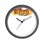 On Fire for the Lord Wall Clock