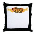 On Fire for the Lord Throw Pillow