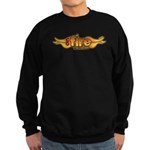 On Fire for the Lord Sweatshirt (dark)