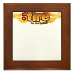 On Fire for the Lord Framed Tile