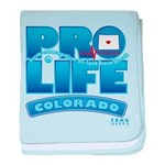 Pro-Life, from conception to baby blanket