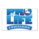 Pro-Life, from conception to Sticker (Rectangle 10