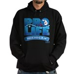 Pro-Life, from conception to Hoodie (dark)