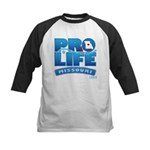 Pro-Life, from conception to Kids Baseball Jersey