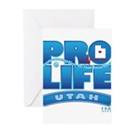 Pro-Life, from conception to Greeting Cards (Pk of
